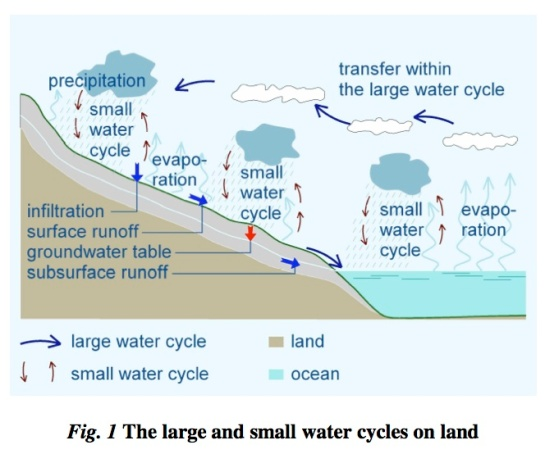 Small water cycle